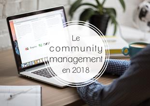 Le community management en 2018